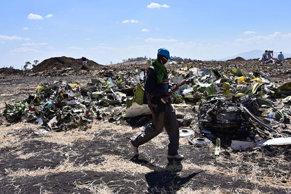 Missing 737 Sensor Said to Be a Focus of Ethiopian Crash