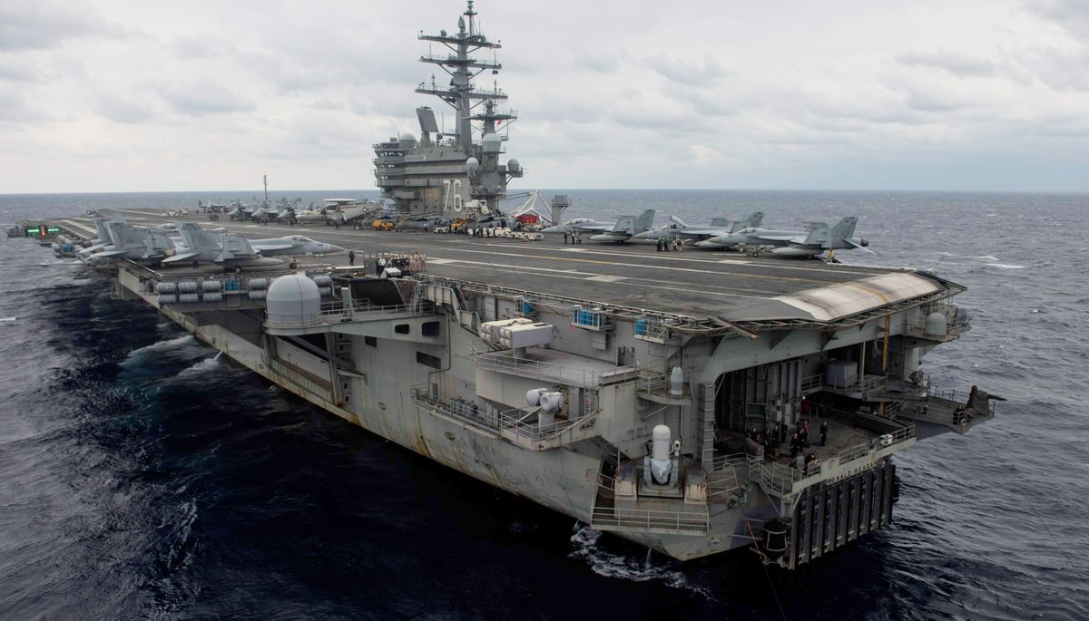U.S. Navy Says Aircraft With 11 Aboard Crashed Into Pacific