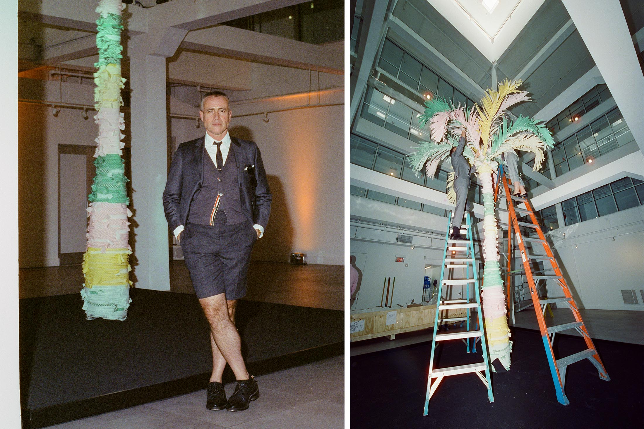 Fashion Designer Thom Browne Wants To Be An Artist Bloomberg