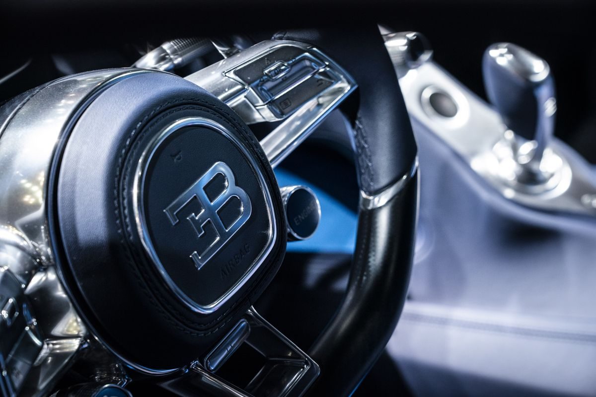 Bugatti Plots Electric Four-Seater for Less Than $1 Million