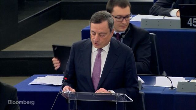 Mario Draghi: Too early to call time on money-printing stimulus