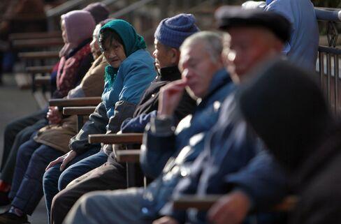 Pensioners Show China Facing 'Demographic Tsunami'