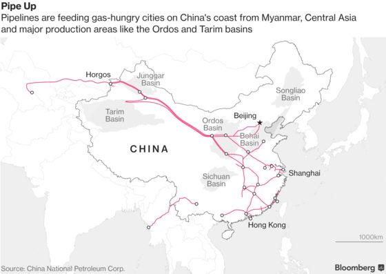 Why China's Putting All Its Oil Pipes in One Company