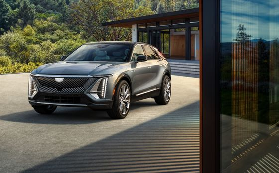 GM Tries to Reboot Cadillac With $60,000 Electric Lyriq SUV