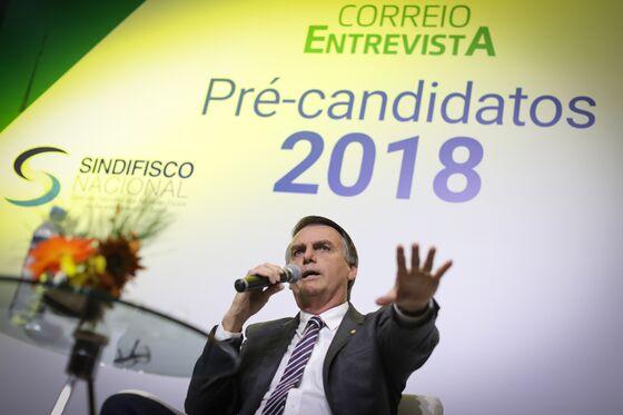 Far-Right Jair Bolsonaro Edges Ahead in Brazil Opinion Poll