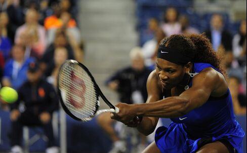 U.S. Tennis Player Serena Williams