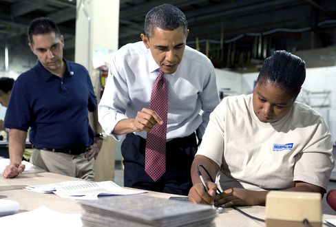 Obama Said to Seek More Than $300 Billion Package to Boost J