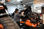 Inside A Harley-Davidson Inc. Store Ahead Of Earnings Figures