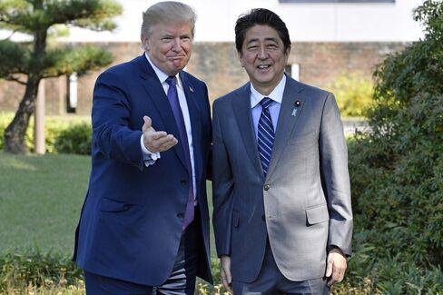 川越市のゴルフ場での日米首脳
