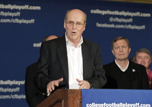 BCS Executive Director Bill Hancock