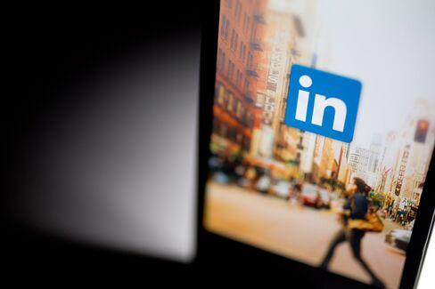 Views Of The LinkedIn Website Ahead Of Earnings Figures