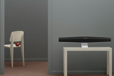 The BeoSound 35 looks as good as it sounds, an aural friend for yourWegner chairs.