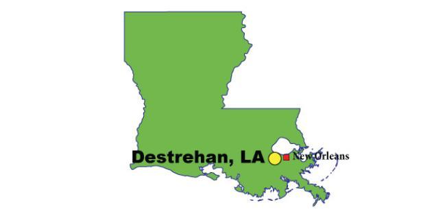 Most Expensive Suburb in Louisiana: Destrehan