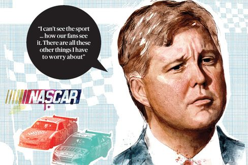 Brian France on Steering Nascar to a TV Deal