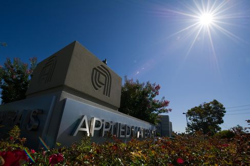 Applied Materials Cuts Yr Sales