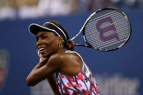 Venus Williams Loses at U.S. Open as Roddick Sets Retirement