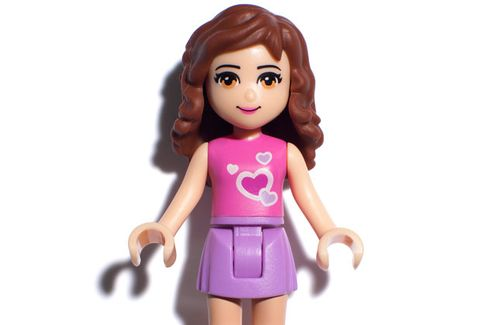 For Lego, Pink Is the New Black