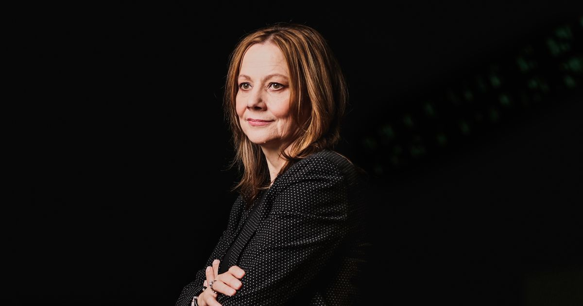 GM's Mary Barra Bets Big on an Electric, Self-Driving Future