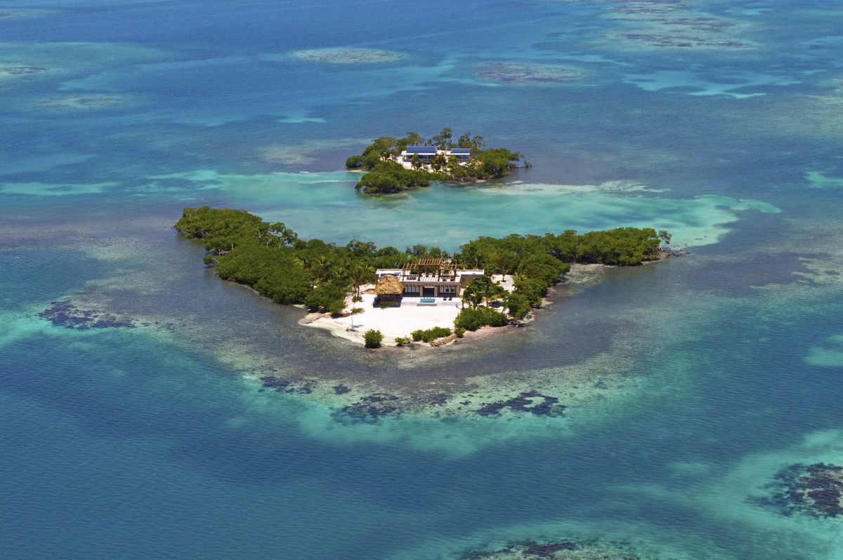 Gladden Private Island Hotel Belize Luxury Caribbean Escape Bloomberg
