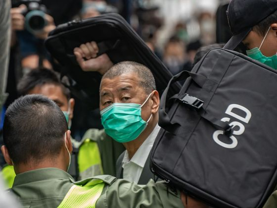 Hong Kong's Lai Pleads Guilty in Protest Case; Assets Frozen