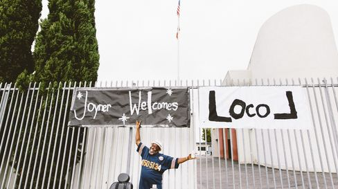 Joyner Elementary School welcomes Locol on opening day.
