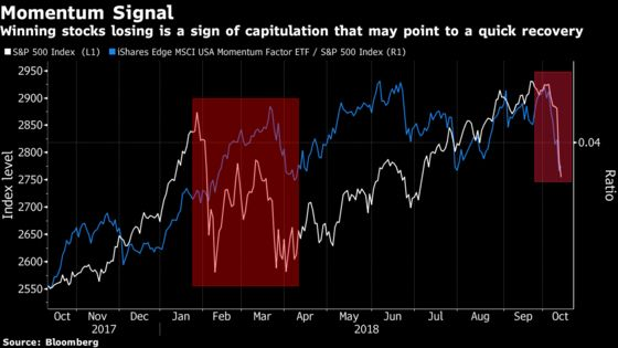 Harrowing Plunge in Momentum Stocks May End Up a Market Blessing