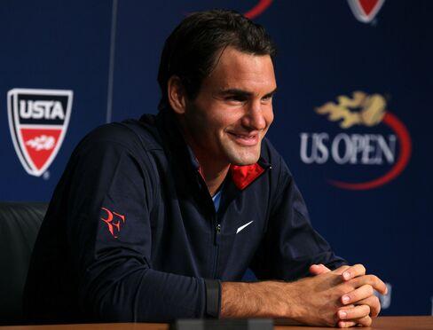 Swiss Tennis Pro Roger Federer
