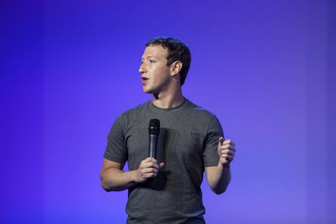 Facebook CEO Mark Zuckerberg speaks during the Internet.org summit in New Delhi last year.