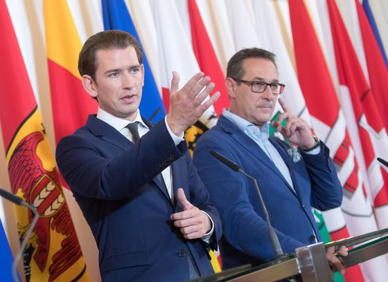 Austria's Kurz Presents Tax Cuts to Counter Weeks of Scandal