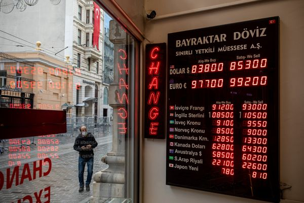 Turkish Currency And Economy As U.S. Poll Uncertainty Roils Markets