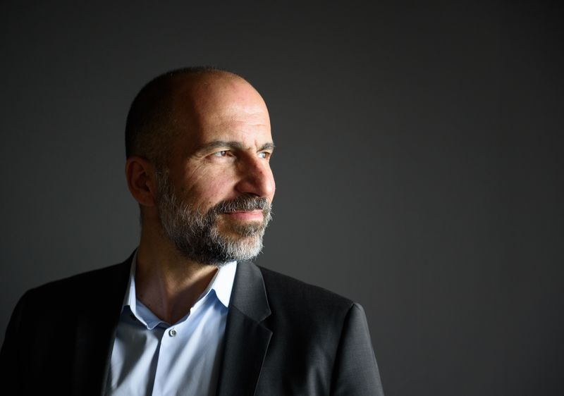 Uber Technologies CEO Dara Khosrowshahi Interview