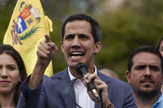 U.S. Asserts Guaido's Control Over Key Venezuela Bank Accounts