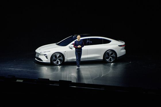 Tesla China Rival Nio Ups Competition With New Electric Sedan