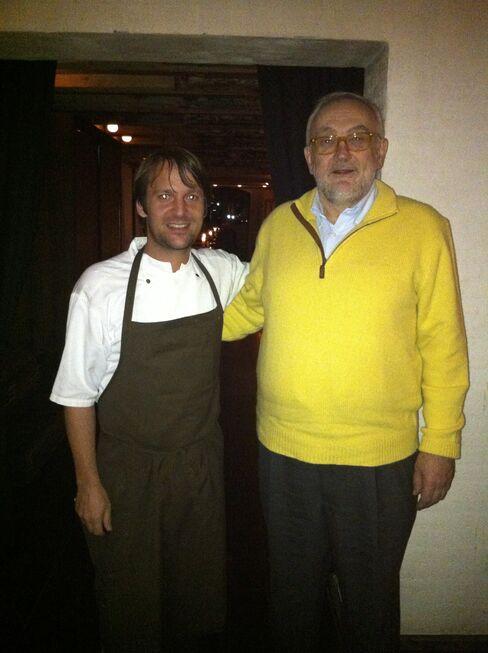 Chefs Rene Redzepi and Pierre Koffmann