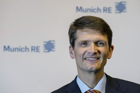 Munich Re Chief Financial Officer Joerg Schneider