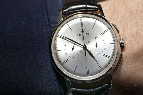 The El Primero Chronograph Classic is understated and simple.