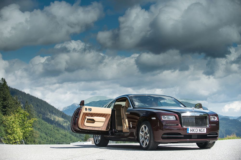 a mind-blowing sports car that happens to be a rolls-royce wraith