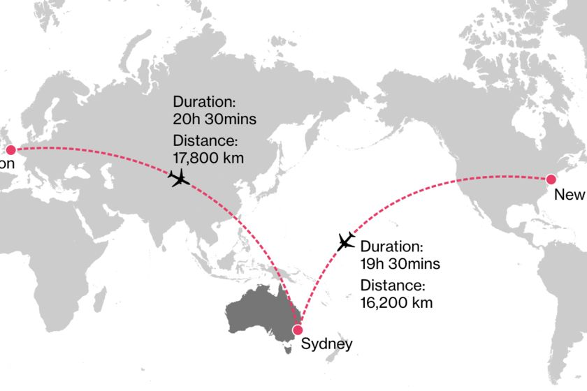 relates to 世界最長20時間のNYシドニー便、科学者も影響注視