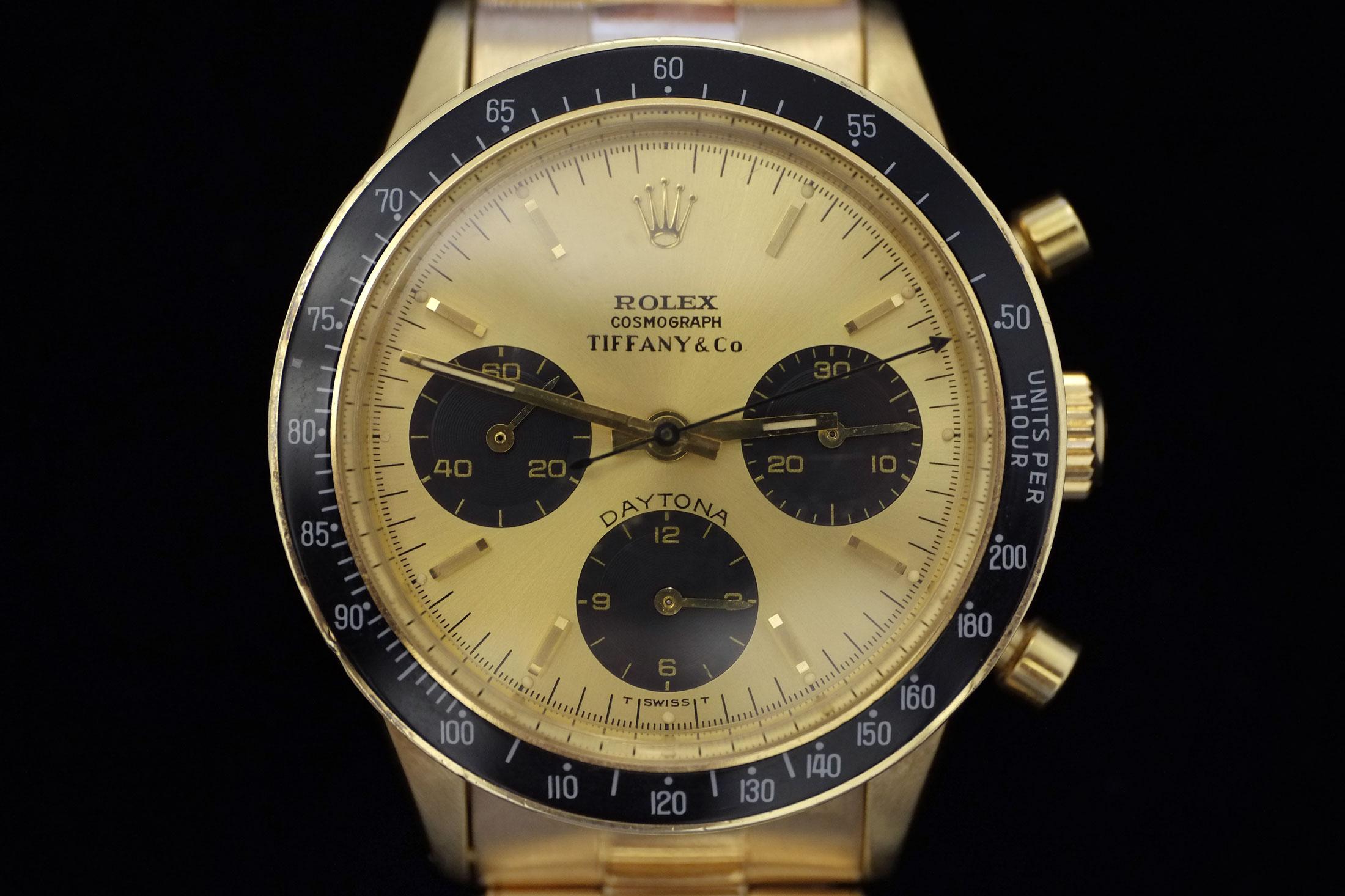 14k Gold Rolex Daytona ref. 6264 (lot 40)