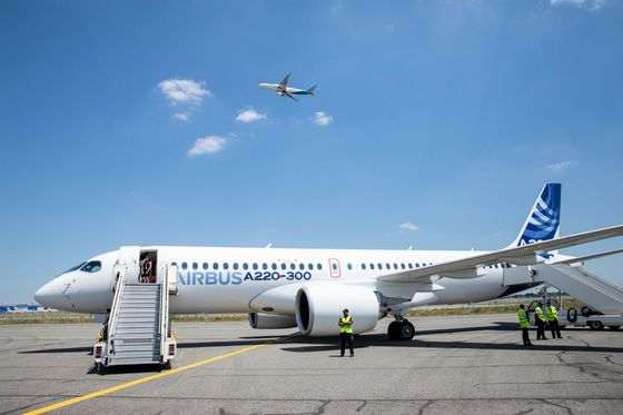 Airbus Goes Slow on A220 Output as Factories Near 'Highest Risk'