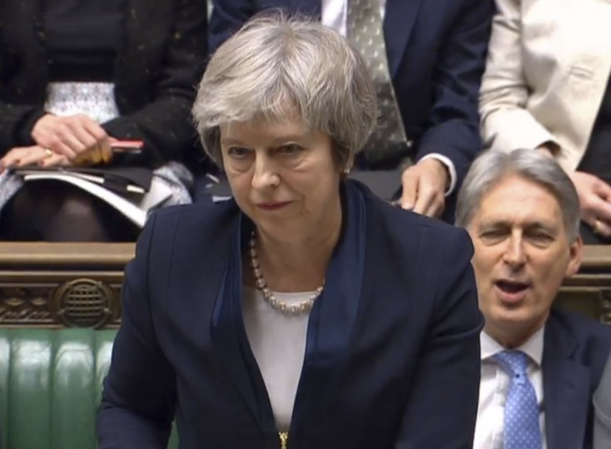 Theresa May's Humbling Offers a Glimmer of Hope