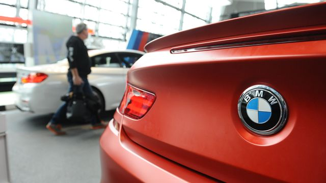 BMW reports 27 percent jump in first quarter pretax profit