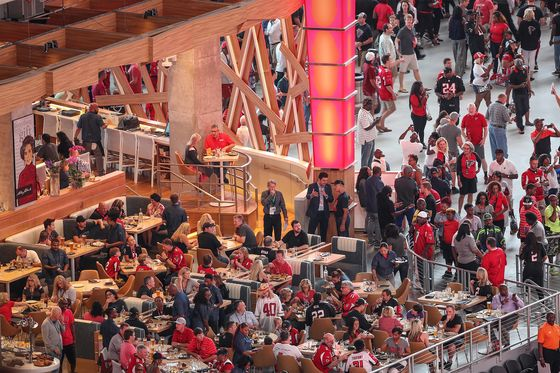 Atlanta Falcons' Stadium Is Going Cashless to Keep Lid on Prices