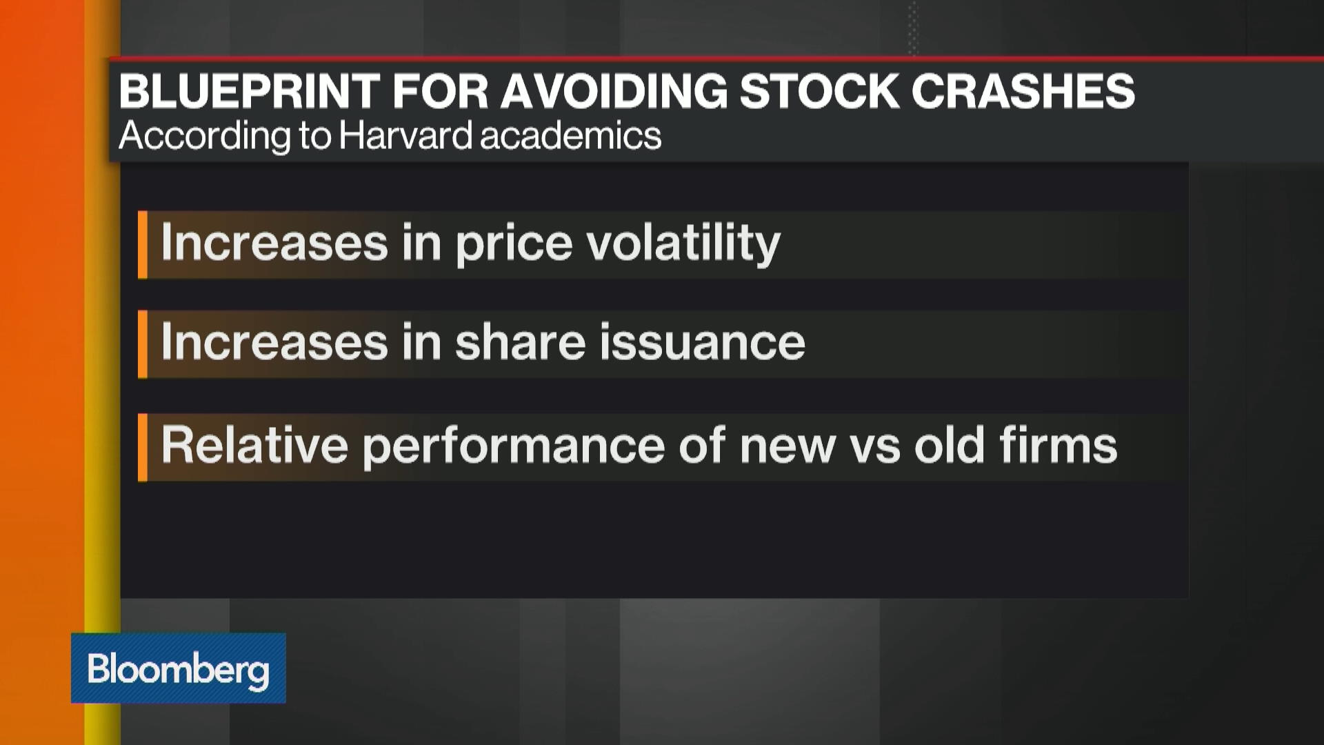 Harvard Reveals Blueprint for Avoiding Stock Crashes