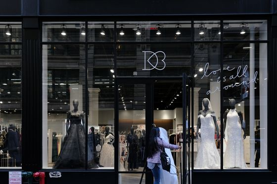 David's Bridal Files for Bankruptcy With Plan to Stay Open