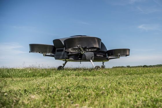 Energy Company CEO Leads Successful U.K. Test of Flying Taxi