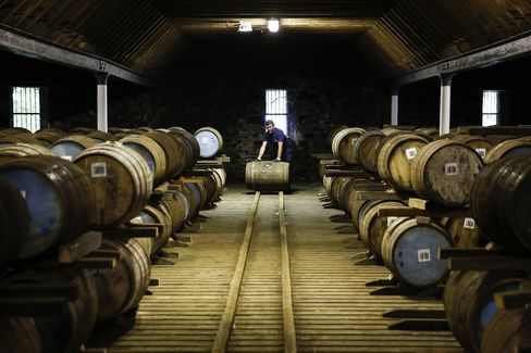 Scotch Whisky Production At Pernod Ricard SA Distilleries Ahead Of Scottish Referendum