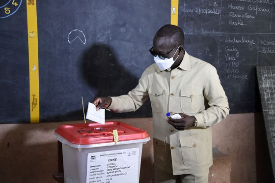 Benin's Talon Wins Re-Election in Vote Lacking Main Opposition
