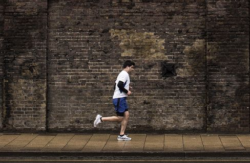 Jogger in London