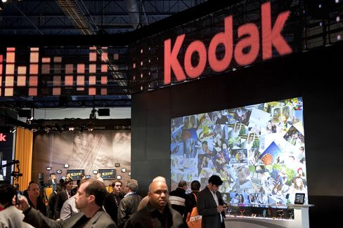 Kodak Said to Weigh Bankruptcy Filing to Spur Sale of Patent
